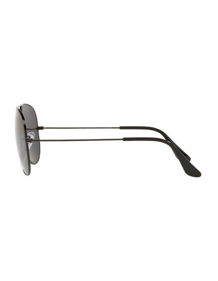 Large Grey Metal Polarised Aviator Sunglasses 0RB3025 1062739161 image 4