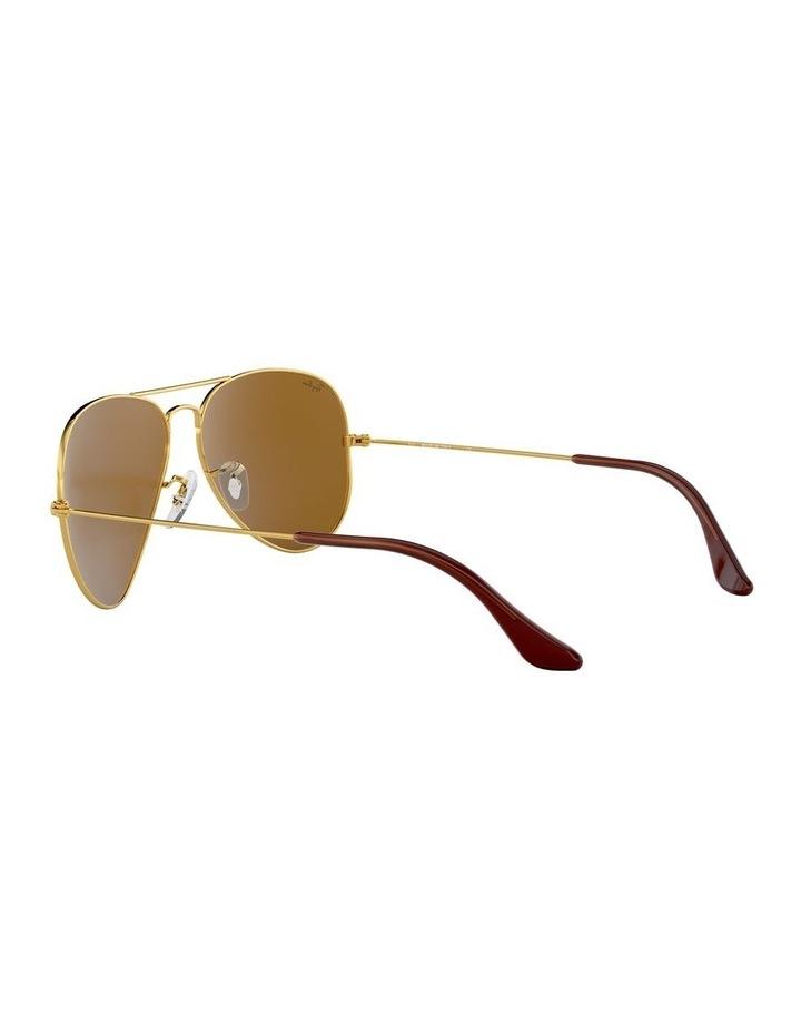 Large Metal Polarised Brown Aviator Sunglasses 0RB3025 1062740037 image 5