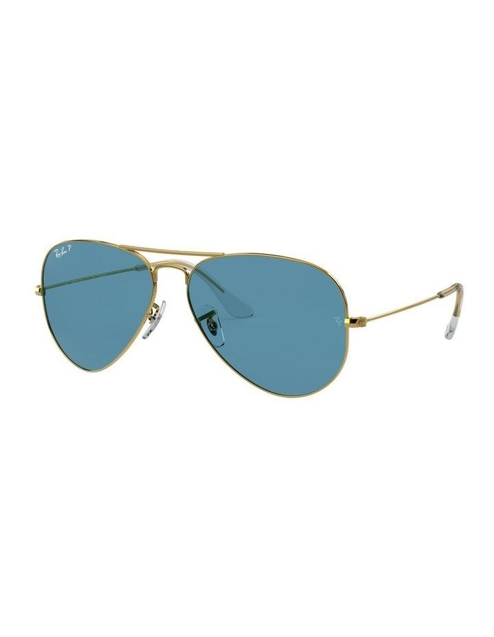Large Metal Polarised Blue Aviator Sunglasses 0RB3025 1062740076 image 1