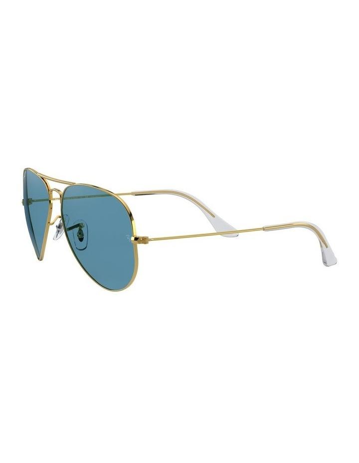 Large Metal Polarised Blue Aviator Sunglasses 0RB3025 1062740076 image 3