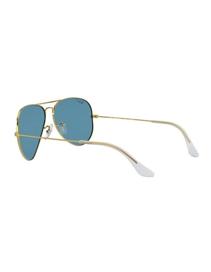 Large Metal Polarised Blue Aviator Sunglasses 0RB3025 1062740076 image 5