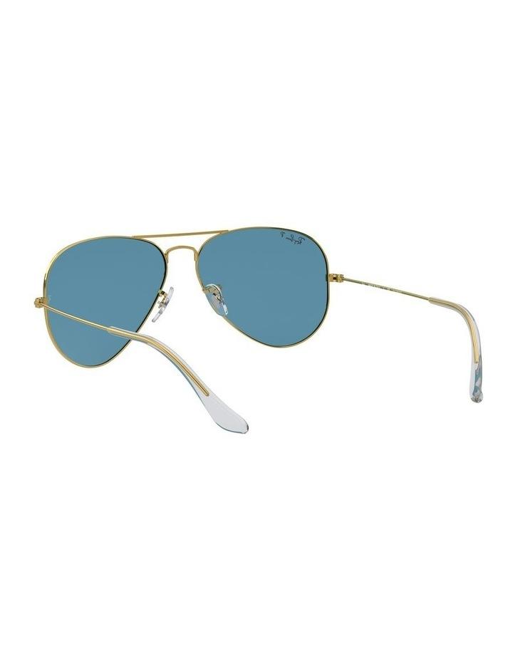 Large Metal Polarised Blue Aviator Sunglasses 0RB3025 1062740076 image 6