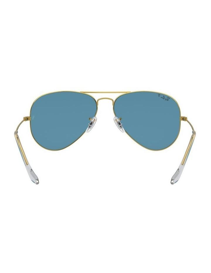 Large Metal Polarised Blue Aviator Sunglasses 0RB3025 1062740076 image 7