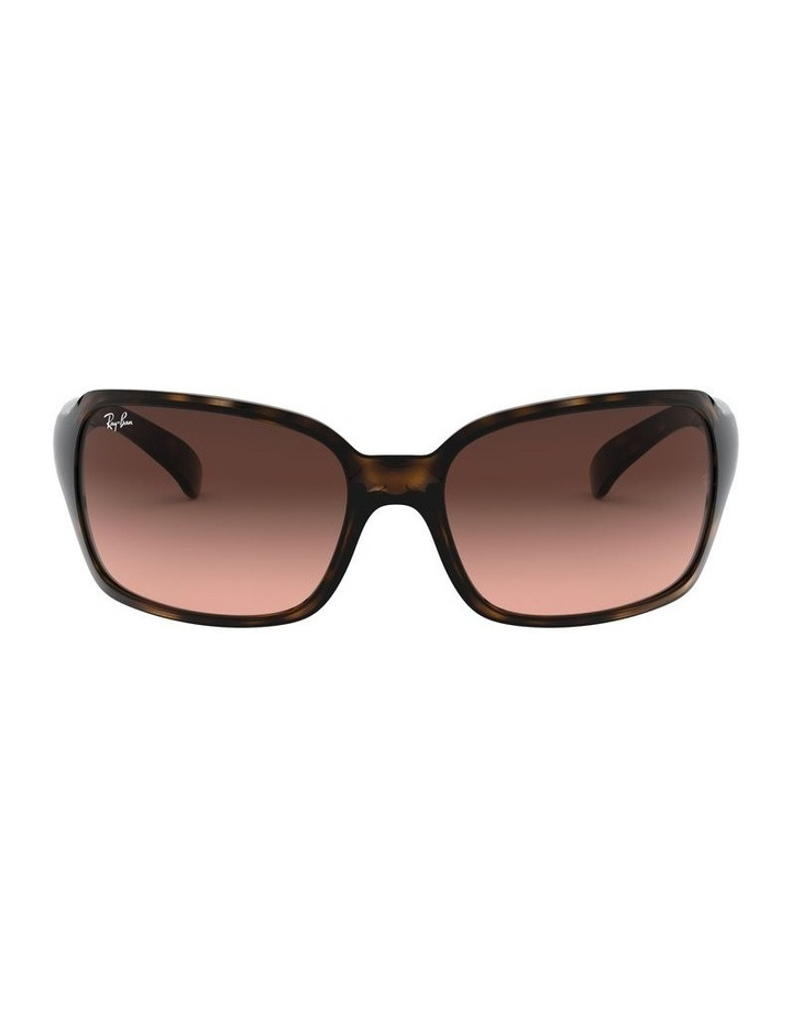 Brown Rectangle Sunglasses 0RB4068 1062940017 image 2