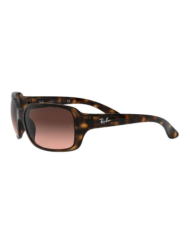 Brown Rectangle Sunglasses 0RB4068 1062940017 image 3