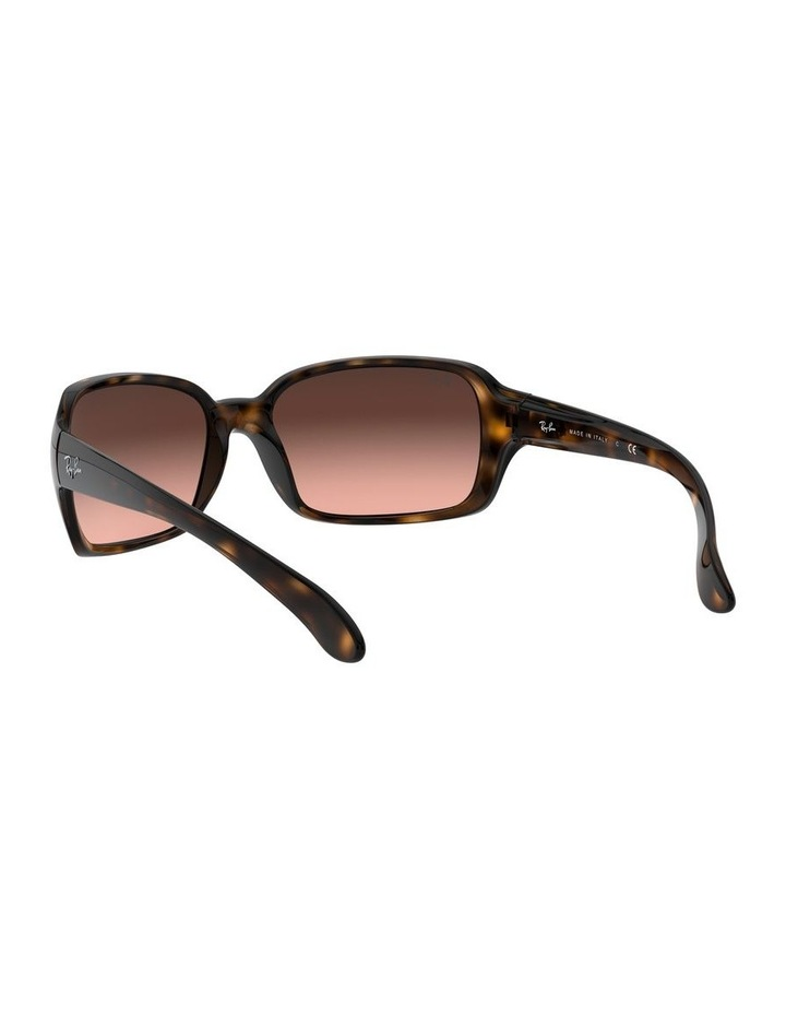 Brown Rectangle Sunglasses 0RB4068 1062940017 image 6