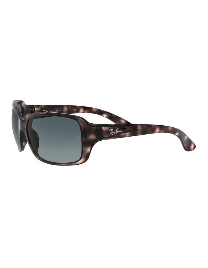 Blue Rectangle Sunglasses 0RB4068 1062940018 image 3