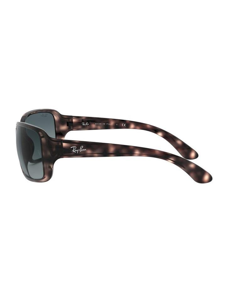 Blue Rectangle Sunglasses 0RB4068 1062940018 image 4