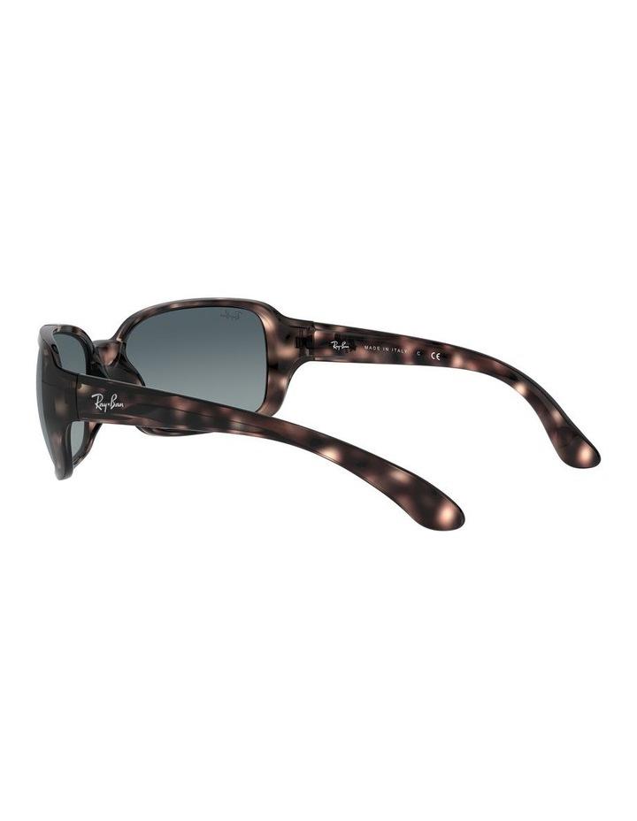 Blue Rectangle Sunglasses 0RB4068 1062940018 image 5