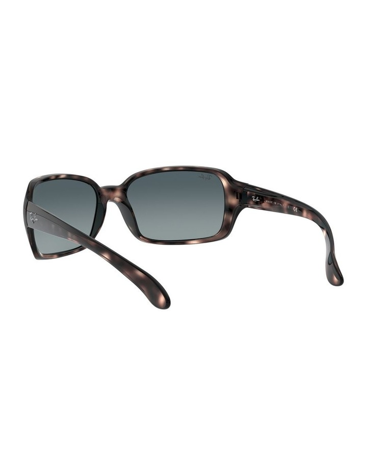 Blue Rectangle Sunglasses 0RB4068 1062940018 image 6