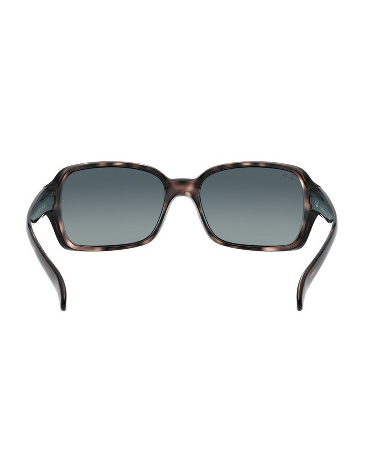 Blue Rectangle Sunglasses 0RB4068 1062940018 image 7