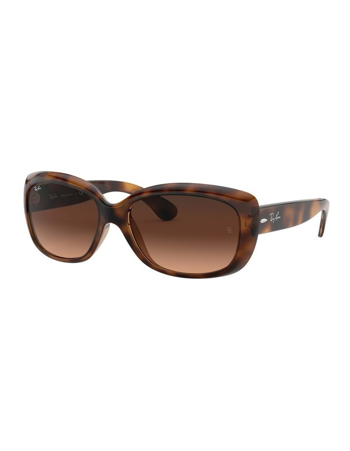 Jackie Ohh Brown Rectangle Sunglasses 0RB4101 1062965038 image 1