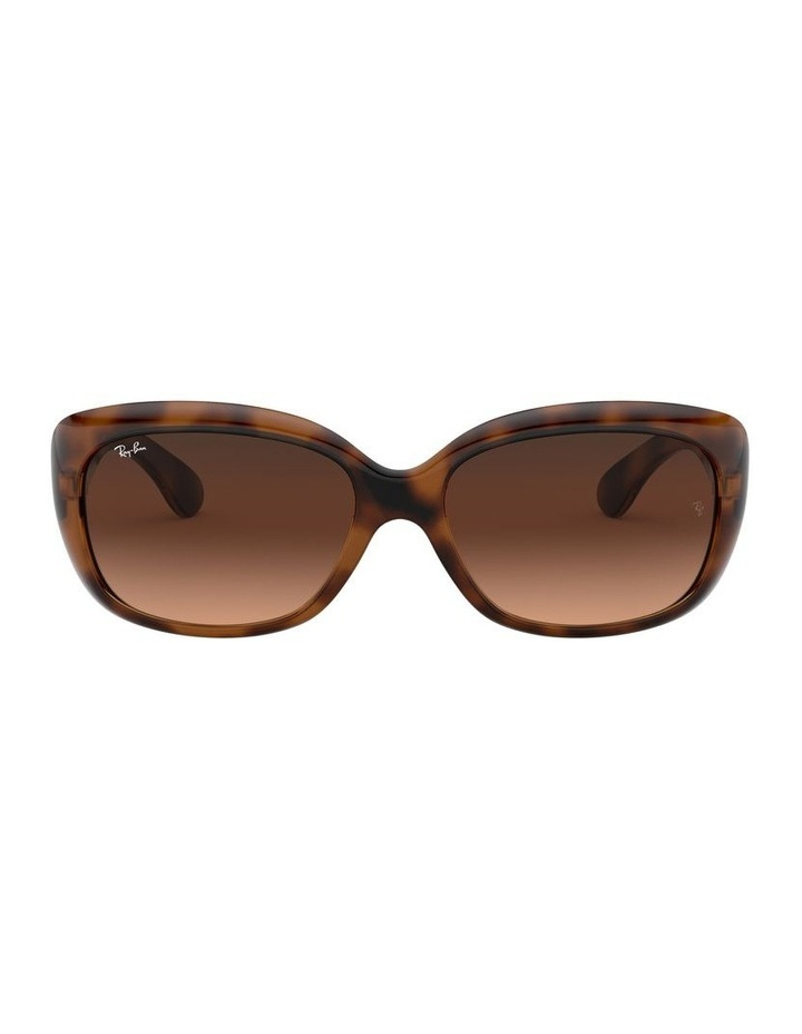 Jackie Ohh Brown Rectangle Sunglasses 0RB4101 1062965038 image 2