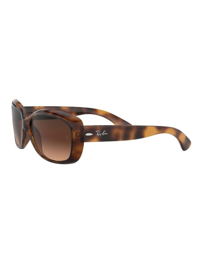 Jackie Ohh Brown Rectangle Sunglasses 0RB4101 1062965038 image 3
