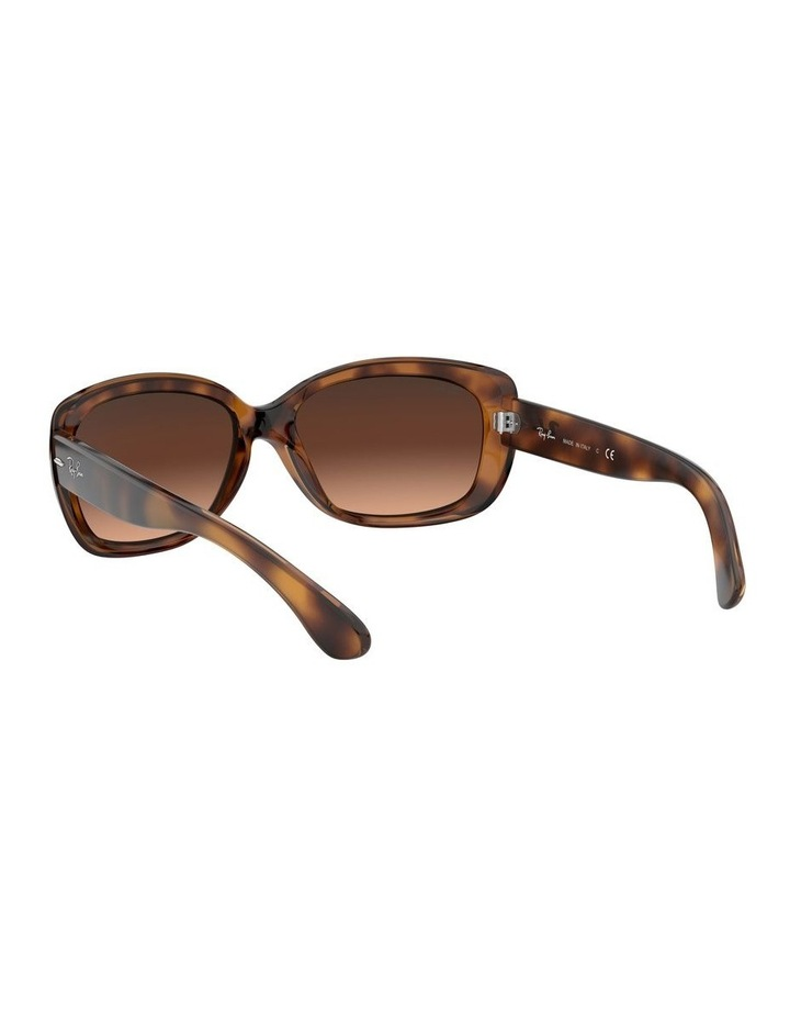 Jackie Ohh Brown Rectangle Sunglasses 0RB4101 1062965038 image 6