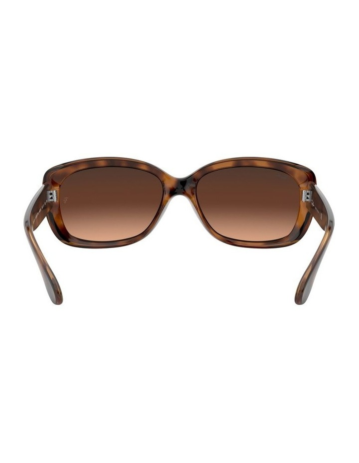 Jackie Ohh Brown Rectangle Sunglasses 0RB4101 1062965038 image 7