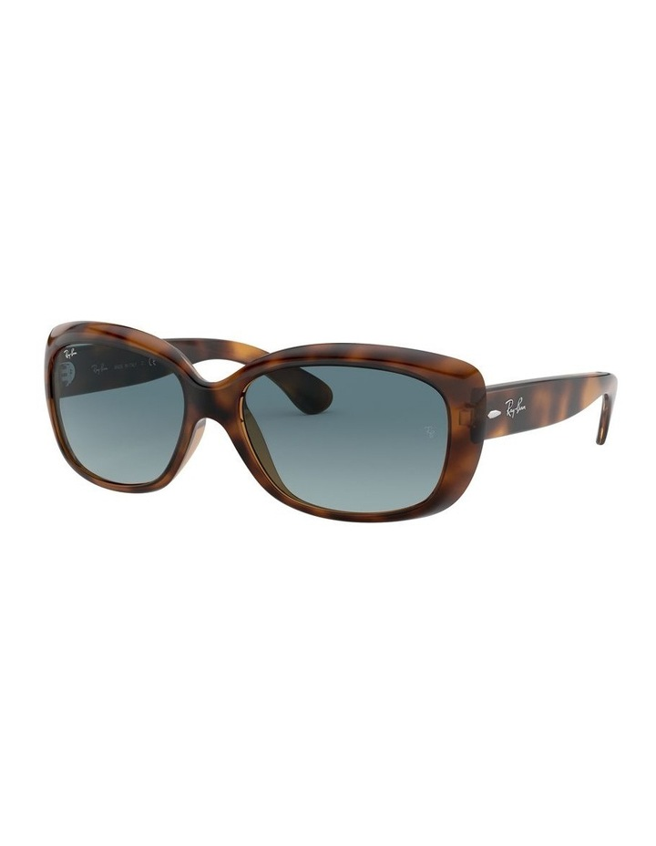 Jackie Ohh Blue Rectangle Sunglasses 0RB4101 1062965039 image 1