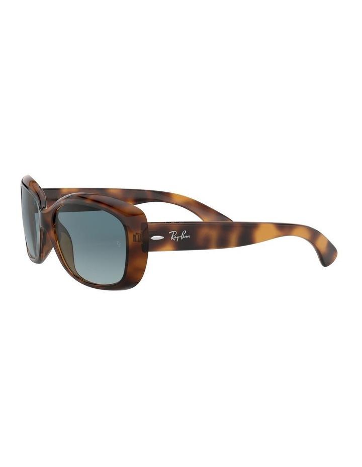 Jackie Ohh Blue Rectangle Sunglasses 0RB4101 1062965039 image 3