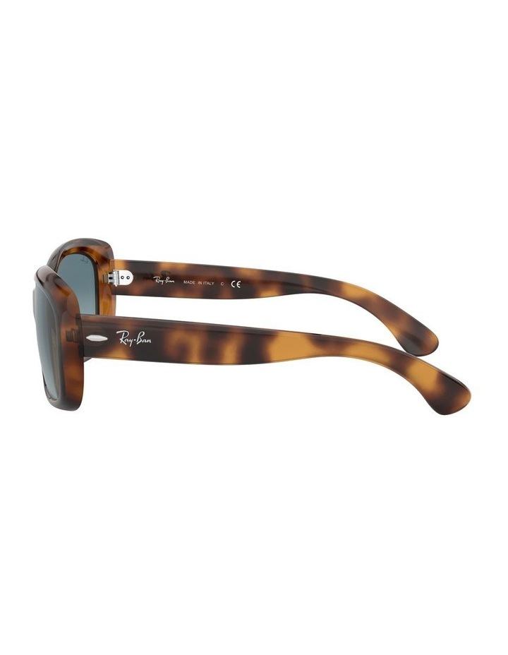 Jackie Ohh Blue Rectangle Sunglasses 0RB4101 1062965039 image 4