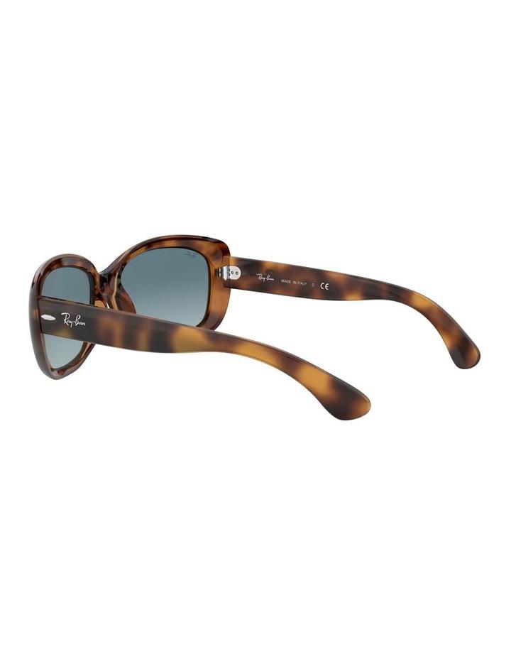 Jackie Ohh Blue Rectangle Sunglasses 0RB4101 1062965039 image 5