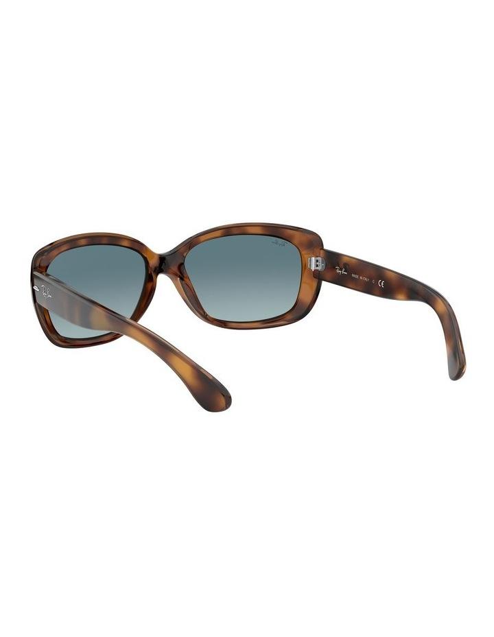 Jackie Ohh Blue Rectangle Sunglasses 0RB4101 1062965039 image 6