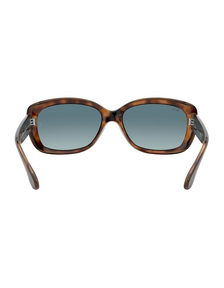 Jackie Ohh Blue Rectangle Sunglasses 0RB4101 1062965039 image 7