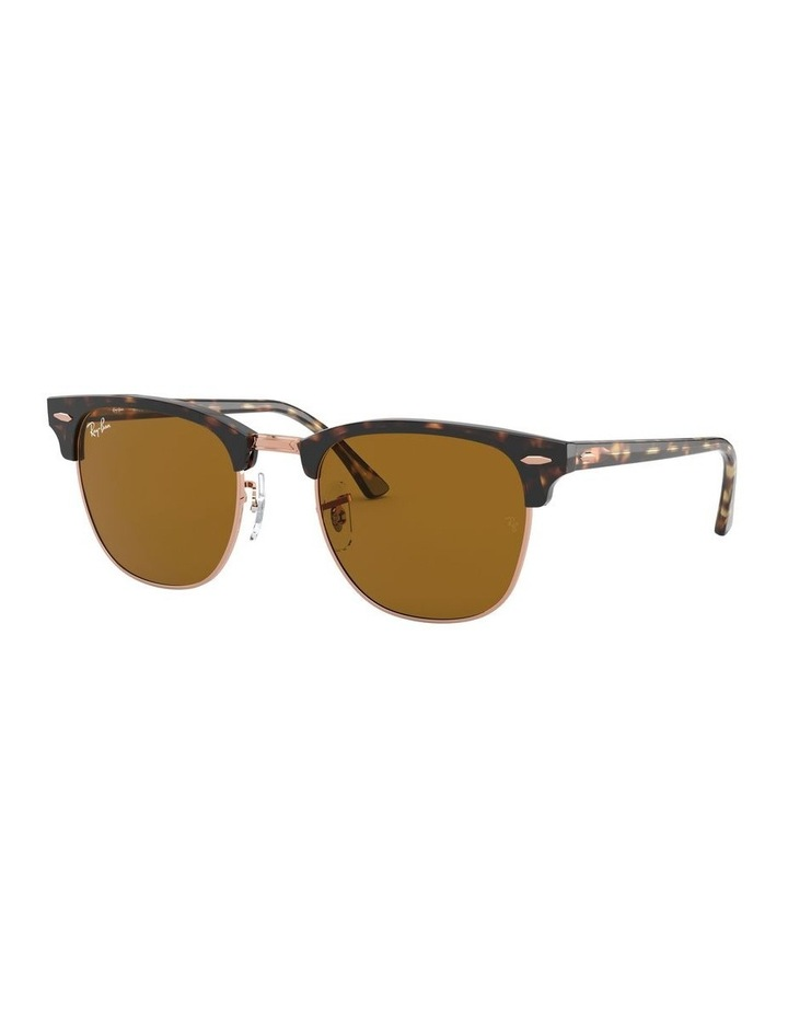 Brown Clubmaster Sunglasses 0RB3016 1130305042 image 1