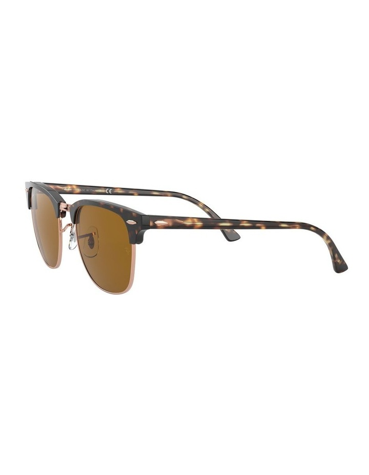 Brown Clubmaster Sunglasses 0RB3016 1130305042 image 3