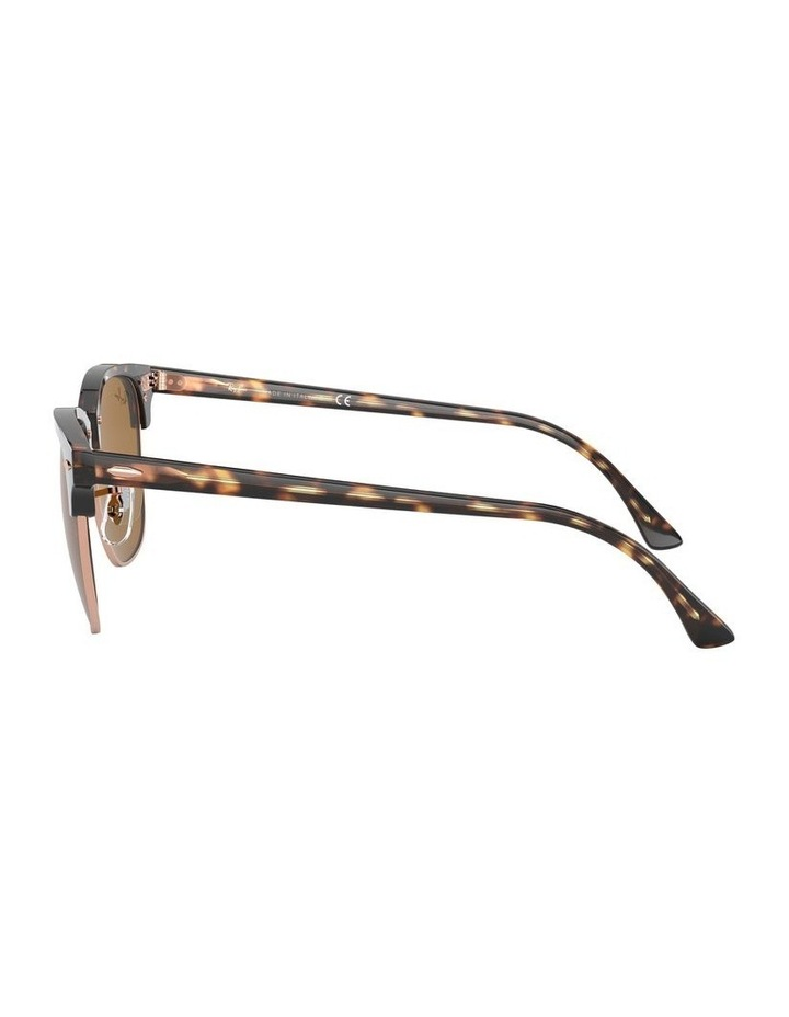 Brown Clubmaster Sunglasses 0RB3016 1130305042 image 4