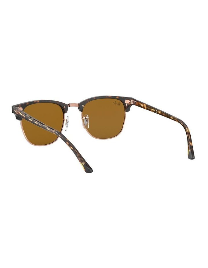 Brown Clubmaster Sunglasses 0RB3016 1130305042 image 6
