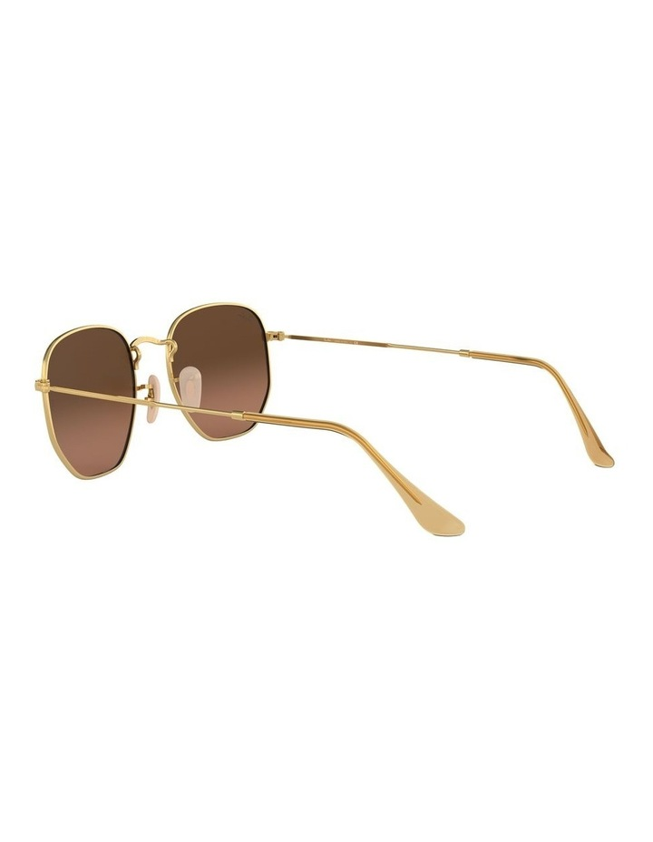 Grey Hexagon Sunglasses 0RB3548N 1511212021 image 5