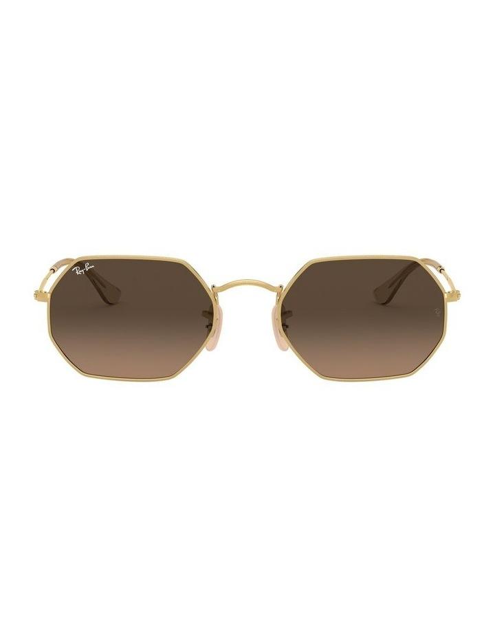 Grey Octagon Sunglasses 0RB3556N 1513005006 image 2