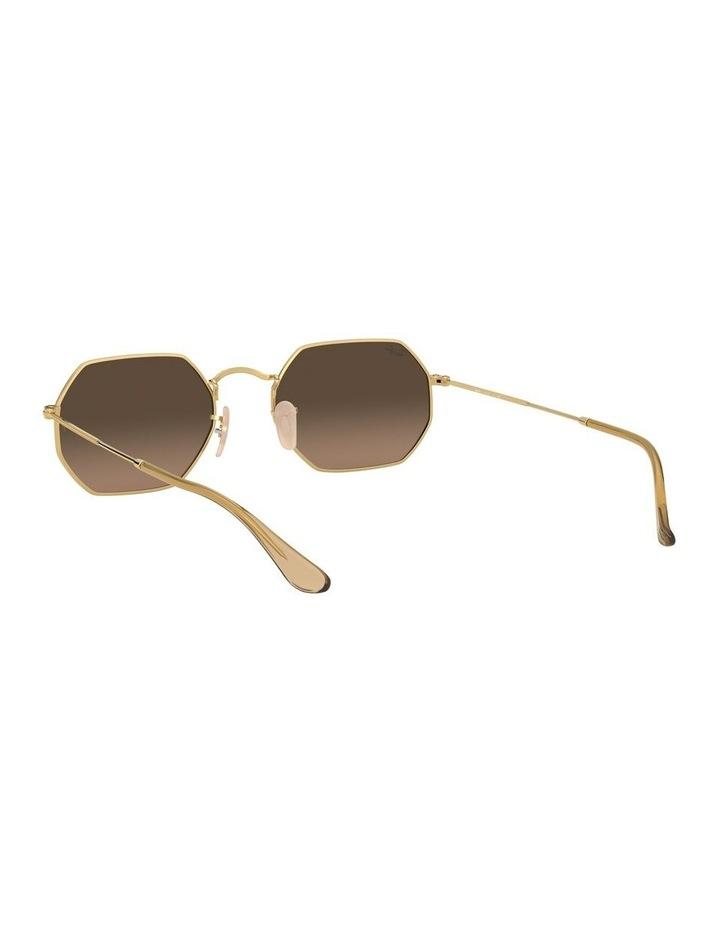 Grey Octagon Sunglasses 0RB3556N 1513005006 image 6