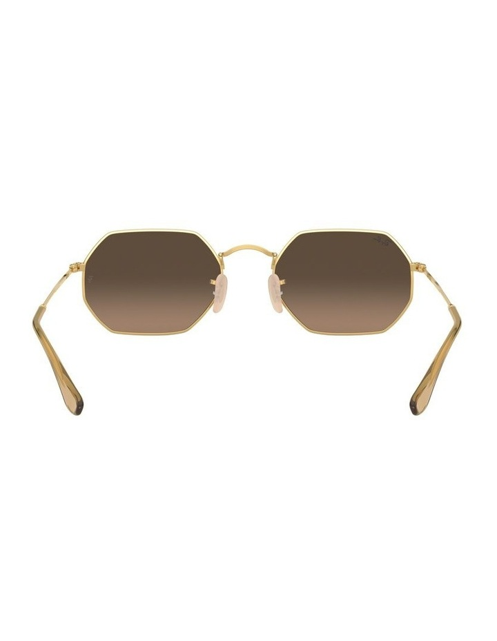Grey Octagon Sunglasses 0RB3556N 1513005006 image 7