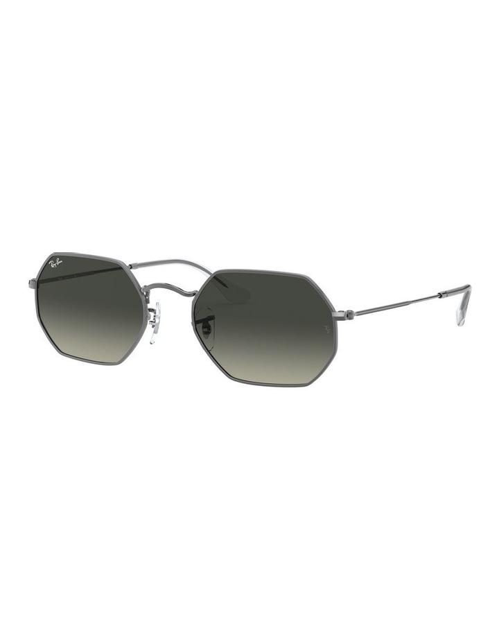 Grey Octagon Sunglasses 0RB3556N 1513005007 image 1