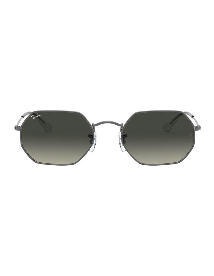 Grey Octagon Sunglasses 0RB3556N 1513005007 image 2
