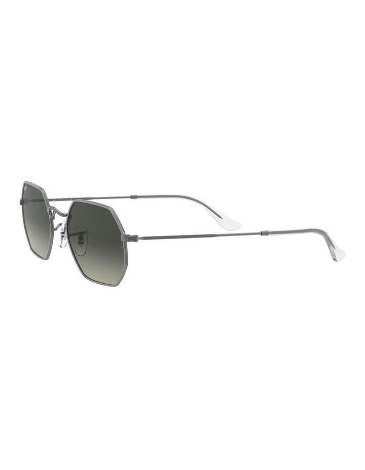 Grey Octagon Sunglasses 0RB3556N 1513005007 image 3