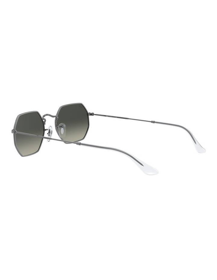 Grey Octagon Sunglasses 0RB3556N 1513005007 image 5