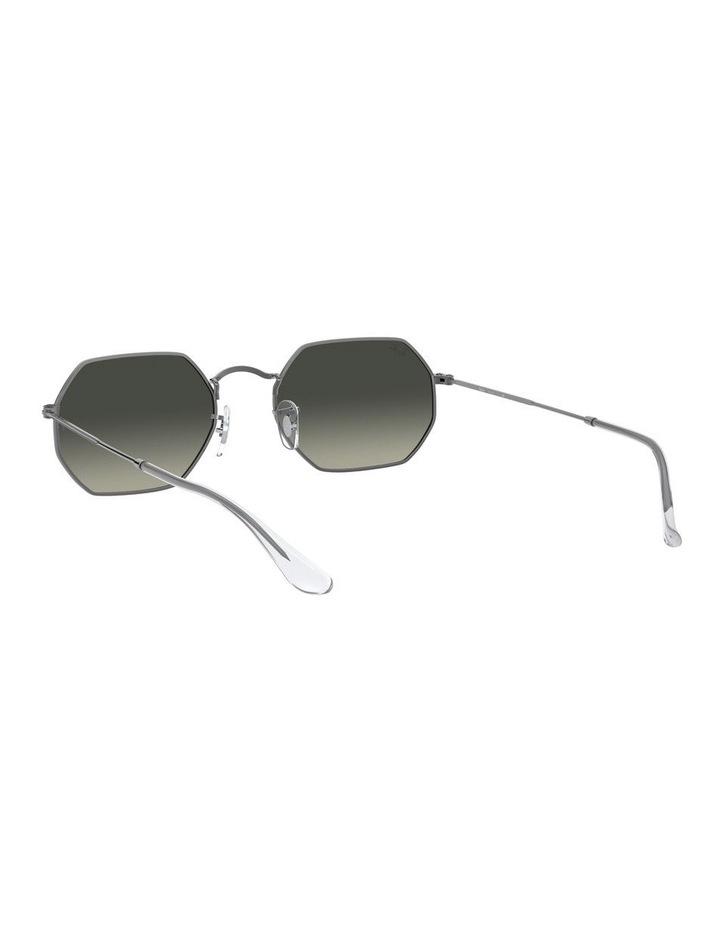 Grey Octagon Sunglasses 0RB3556N 1513005007 image 6