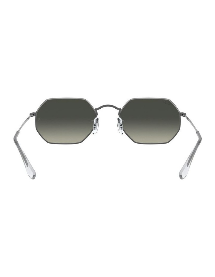 Grey Octagon Sunglasses 0RB3556N 1513005007 image 7