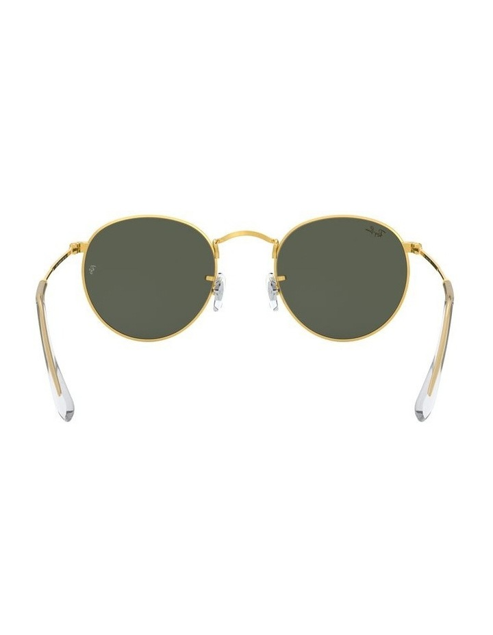 Round Metal Gold 0RB3447 Sunglasses image 7