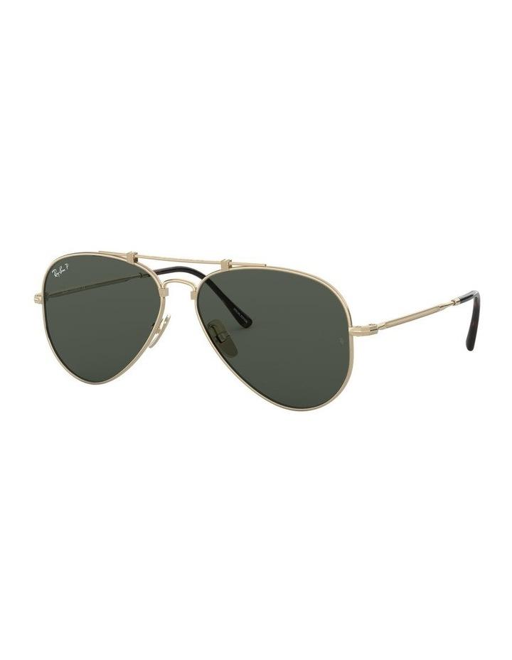 0RB8125M Titanium 1522232001 Polarised Sunglasses image 1