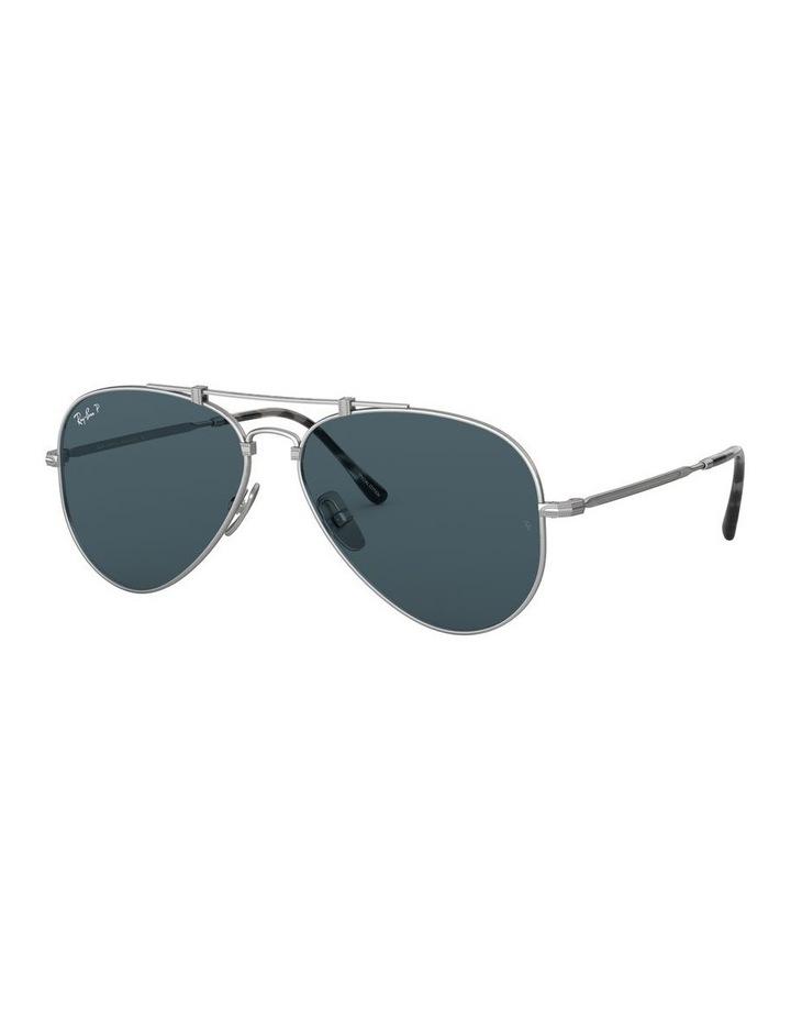 0RB8125M Titanium 1522232002 Polarised Sunglasses image 1