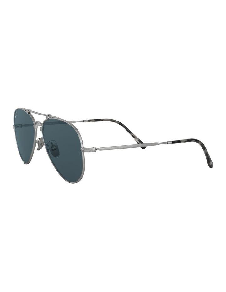 0RB8125M Titanium 1522232002 Polarised Sunglasses image 3