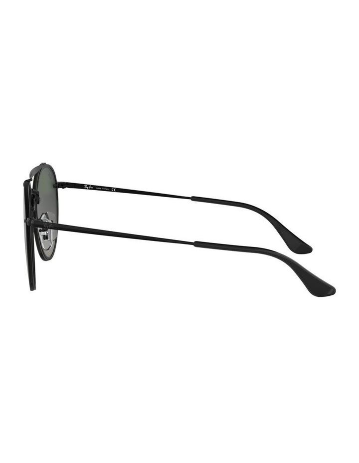 0RB3614N Blaze Round Doublebridge 1523721004 Sunglasses image 4