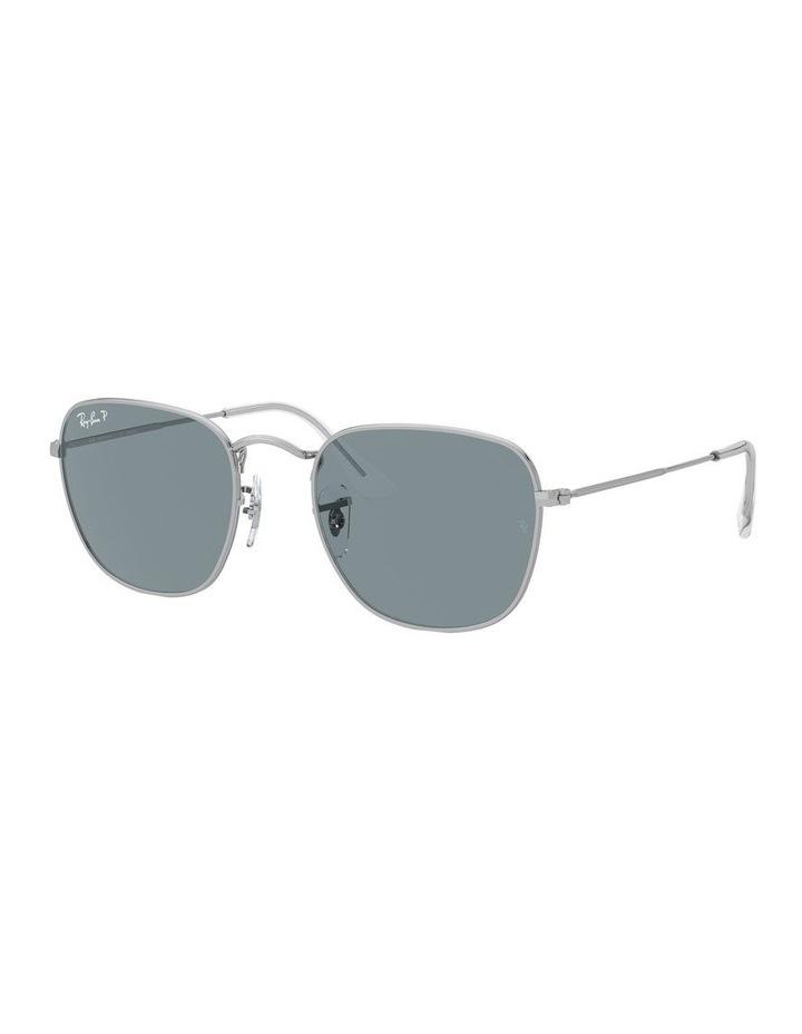 Frank Polarised Blue Square Sunglasses 0RB3857 1529430006 image 1