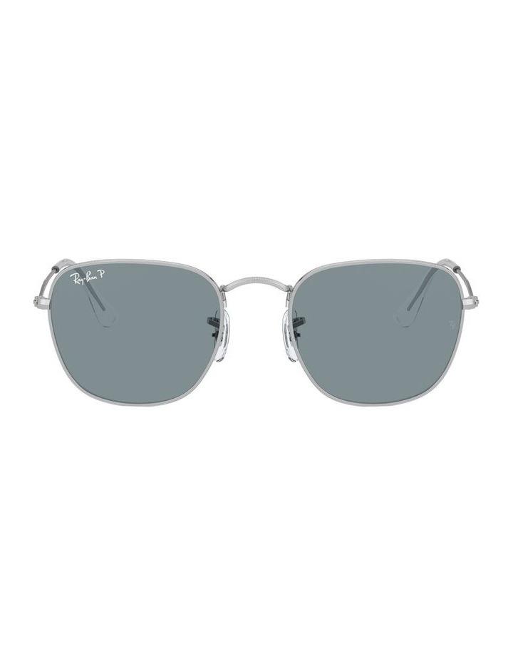 Frank Polarised Blue Square Sunglasses 0RB3857 1529430006 image 2