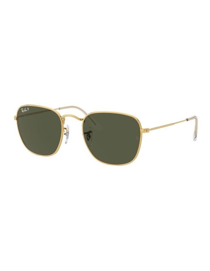 Frank Polarised Green Square Sunglasses 0RB3857 1529430008 image 1