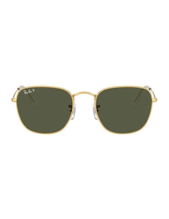 Frank Polarised Green Square Sunglasses 0RB3857 1529430008 image 2