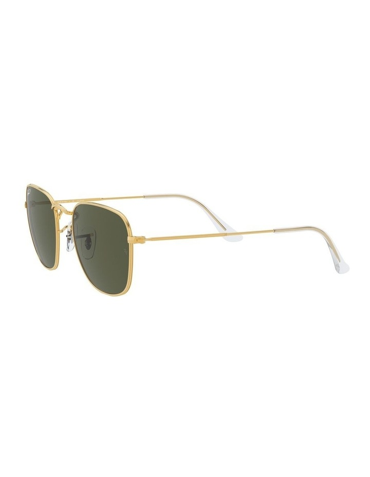 Frank Polarised Green Square Sunglasses 0RB3857 1529430008 image 3